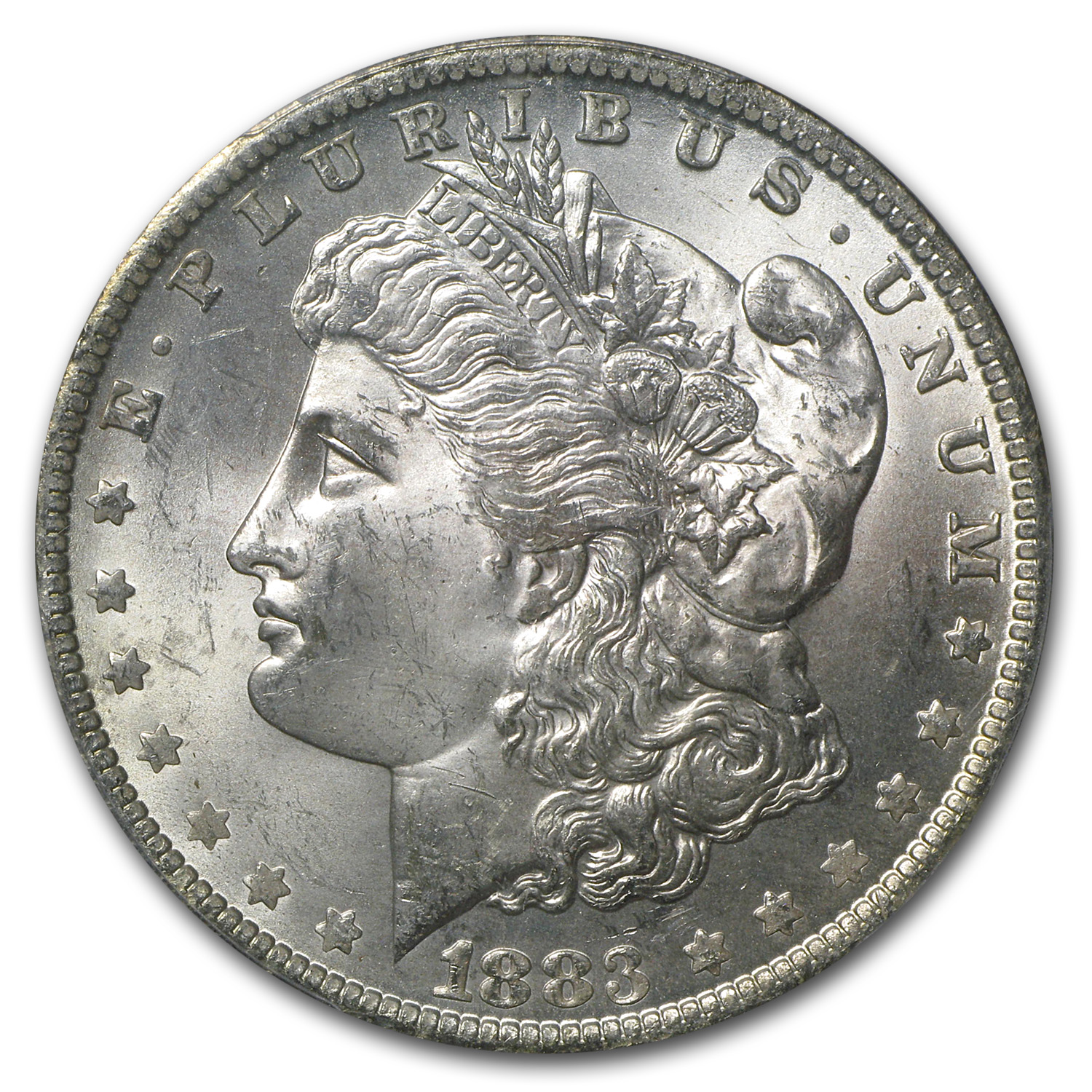 1883-O Morgan Dollar - MS-64 PCGS